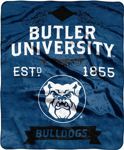NCAA Butler Label Raschel Throw