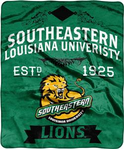 NCAA Southeastern Louisiana Label Raschel Throw