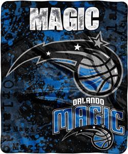 Northwest NBA Magic Dropdown Raschel Throw