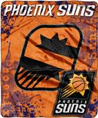 Northwest NBA Suns Dropdown Raschel Throw