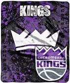 Northwest NBA Sac Kings Dropdown Raschel Throw