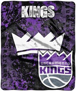 Northwest NBA Sac Kings Dropdown Raschel Throw