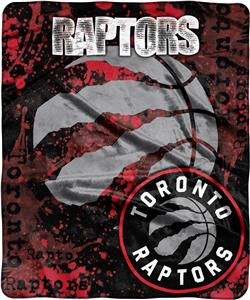 Northwest NBA Raptors Dropdown Raschel Throw