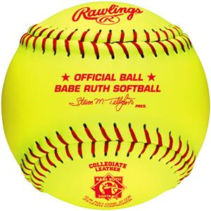 "Rawlings 12"" Babe Ruth League Fast Pitch Softballs"