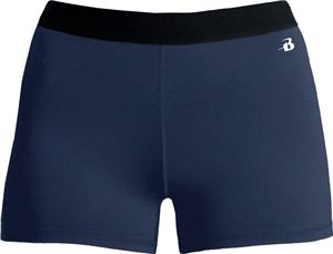 Badger Ladies Girls Pro-Compression Shorts