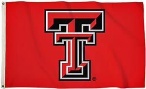 BSI College Texas Tech 3' x 5' Flag w/Grommets