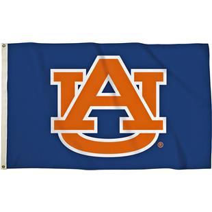 BSI College Auburn Tigers 3'x5' Flag w/Grommets