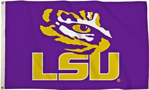BSI College LSU Tigers 3' x 5' Flag w/Grommets