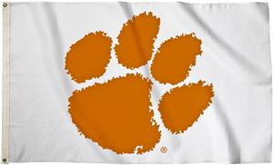 BSI College Clemson Tigers 3' x 5' Flag w/Grommets