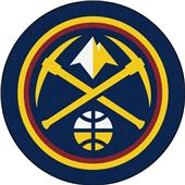 Fan Mats NBA Denver Nuggets Mascot Mat