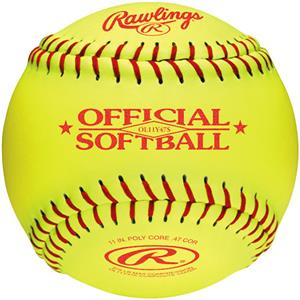 "Rawlings 11"" Fast Pitch Practice Softballs"