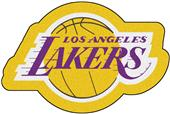 Fan Mats NBA Los Angeles Lakers Mascot Mat