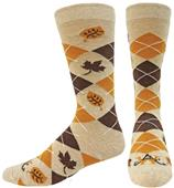 Wright Avenue Harvest Novelty Cotton Crew Sock