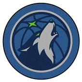 Fan Mats NBA Minnesota Timberwolves Mascot Mat