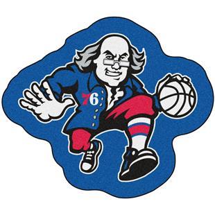 Fan Mats NBA Philadelphia 76ers Mascot Mat