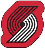 Fan Mats NBA Portland Trail Blazers Mascot Mat