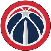 Fan Mats NBA Washington Wizards Mascot Mat
