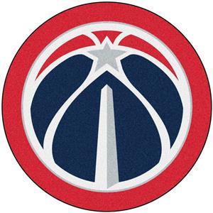 Fan Mats NBA Washington Wizards Mascot Mat