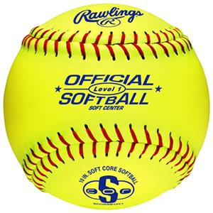 "Rawlings 10"" Official Level 1 Training Softballs"