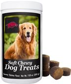 Gamewear NCAA Arkansas Soft Chewy Dog Treats