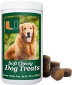 Gamewear NCAA Miami Soft Chewy Dog Treats