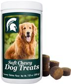 Gamewear NCAA Michigan State Soft Chewy Dog Treats