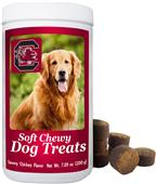 Gamewear NCAA South Carolina Soft Chewy Dog Treats