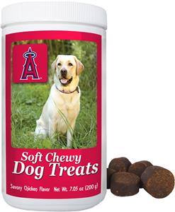 Gamewear MLB Anaheim Angels Soft Chewy Dog Treats