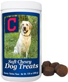 Gamewear MLB Cleveland Soft Chewy Dog Treats