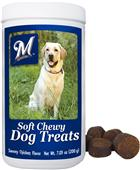 Gamewear MLB Milwaukee Soft Chewy Dog Treats