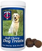 Gamewear MLB Minnesota Twins Soft Chewy Dog Treats