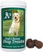 Gamewear MLB Oakland Soft Chewy Dog Treats