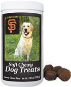 Gamewear MLB San Francisco Soft Chewy Dog Treats