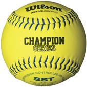 Wilson USSSA Fastpitch Synthetic Softballs (dozen)