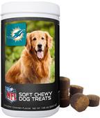 Gamewear NFL Miami Dolphins Soft Chewy Dog Treats