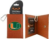 Miami Hurricanes Classic Football ID Holder