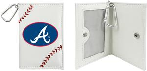 Atlanta Braves Classic Baseball ID Holder