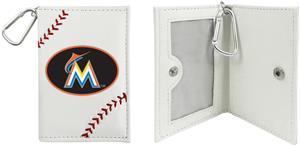 Miami Marlins Classic Baseball ID Holder