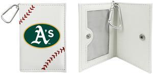 Oakland Athletics Classic Baseball ID Holder