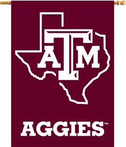 "College Texas A&M Aggies 2-Sided 28""x40"" Banner"