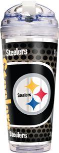 NFL Pittsburgh Steelers Acrylic Tumbler w/ Straw