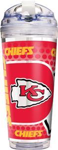 NFL Kansas City Chiefs Acrylic Tumbler w/ Straw