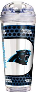 NFL Carolina Panthers Acrylic Tumbler w/ Straw