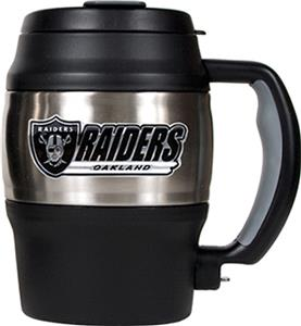 NFL Oakland Raiders 20 Oz. Thermal Jug