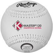 "Rawling 12"" ASA K-Master White Fastpitch Softballs"