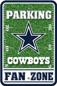 NFL Dallas Cowboys Plastic Parking Sign