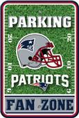 NFL New England Patriots Plastic Parking Sign