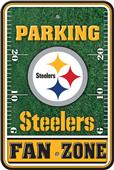 NFL Pittsburgh Steelers Plastic Parking Sign