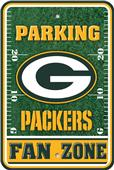 NFL Green Bay Packers Plastic Parking Sign