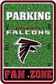 NFL Atlanta Falcons Plastic Parking Sign